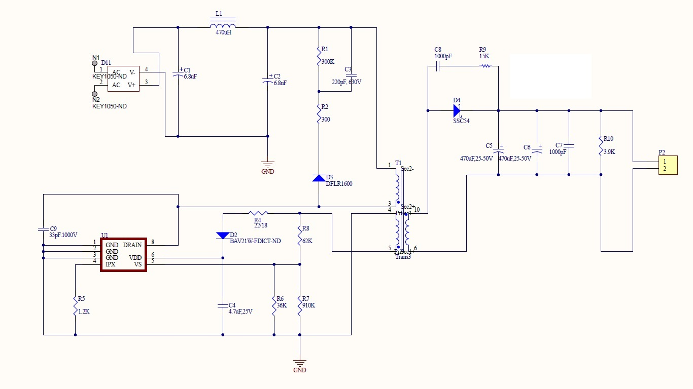 Resolved] UCC28910: Voltage drops and voltage fluctuation