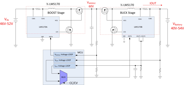 lm5170 q1 for cccv charging module 54 6v 30a max 12s lipo power rh e2e ti com