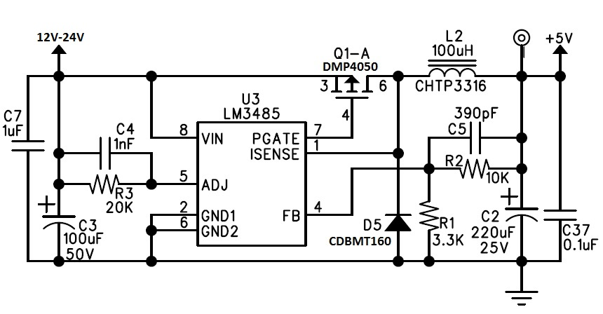 lm3485 problem - non-isolated dc  dc forum - non-isolated dc  dc