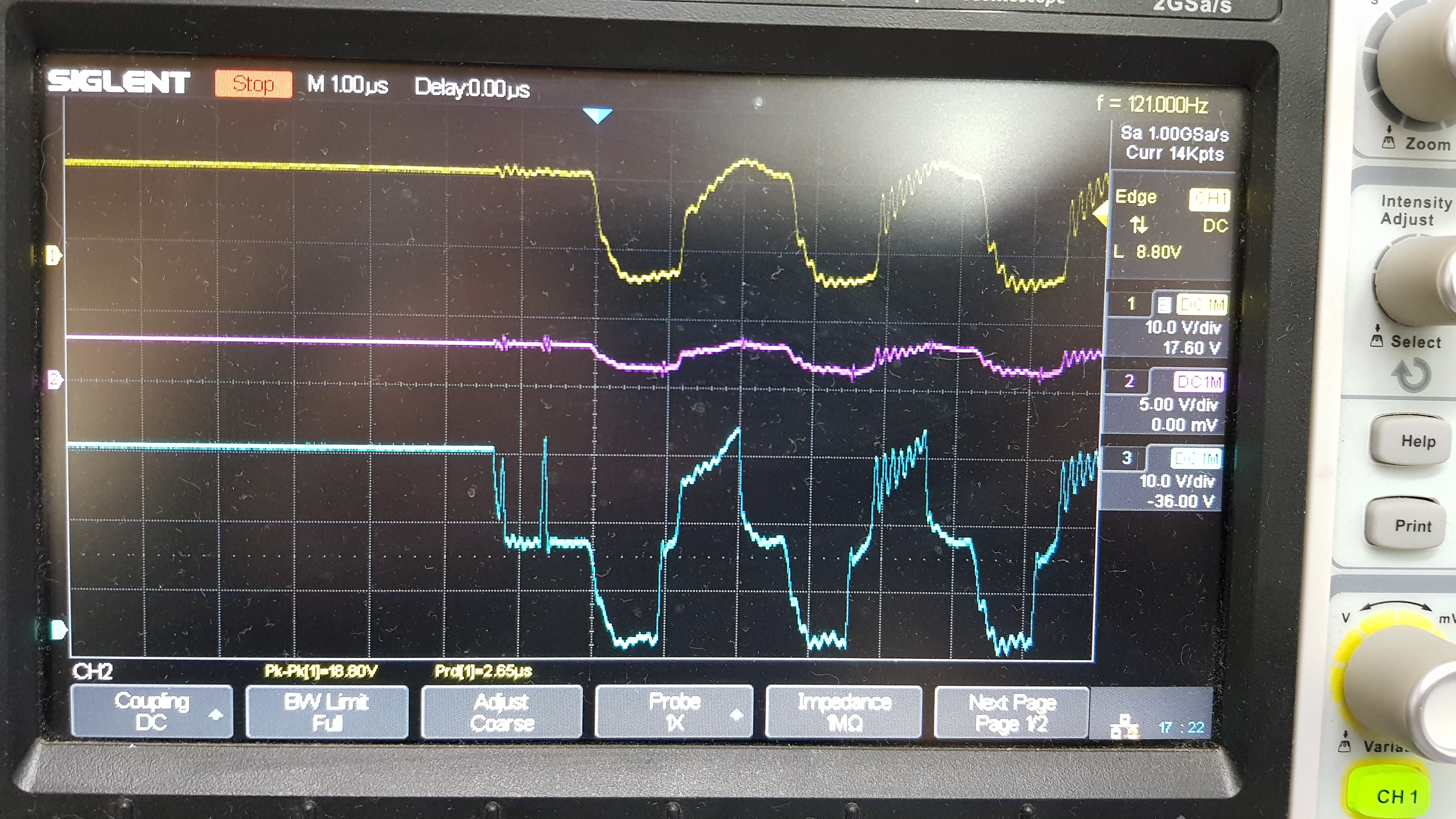 Lm5104 To Work As A Switch Not With Pwm Power Management Forum Thread Some Help Circuit I39m Working Onhopefully Attached Pictures Of What Happend After Few Cycles That Oscilation It Stopped And The Hs Went Something Arround 5 Volts