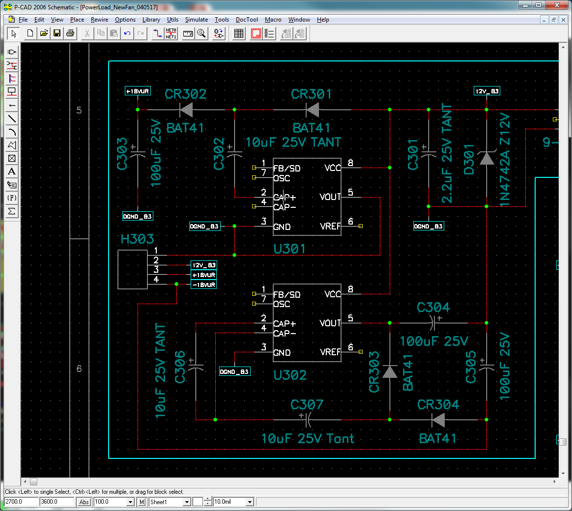 Lt1054 Obtaining A Balanced Bipolar Voltage Doubler Output Power 18v Regulated Supply Circuit Is Shown As Above Steven