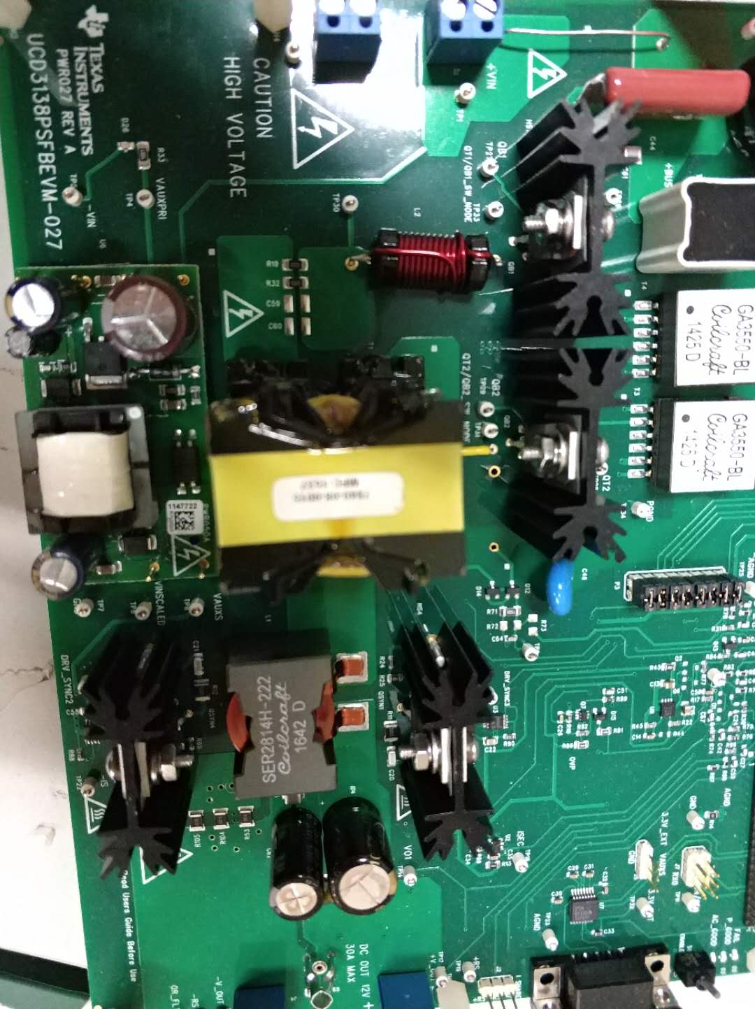 Resolved Ucd3138psfbevm 027 How Can The Tested Electrical Circuit Training Board Thanks Sincerely