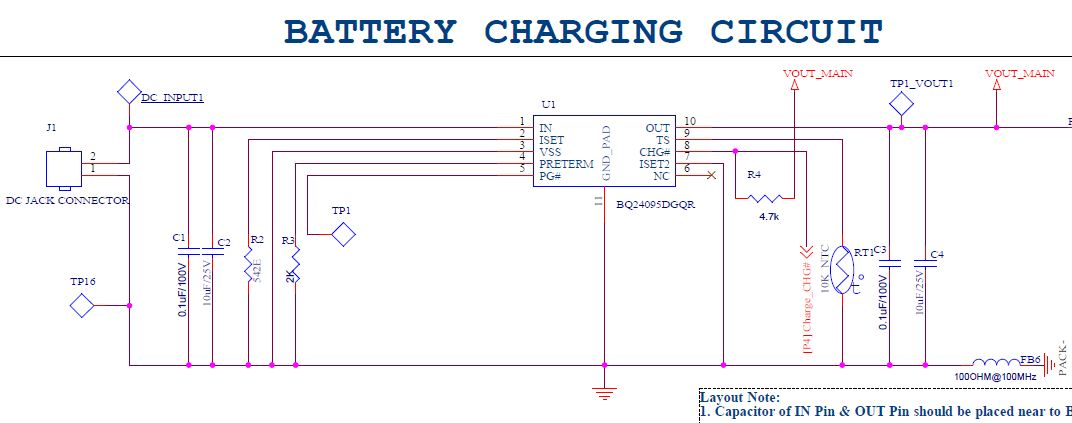 Resolved] BQ24095: Charging IC not give constant output voltage