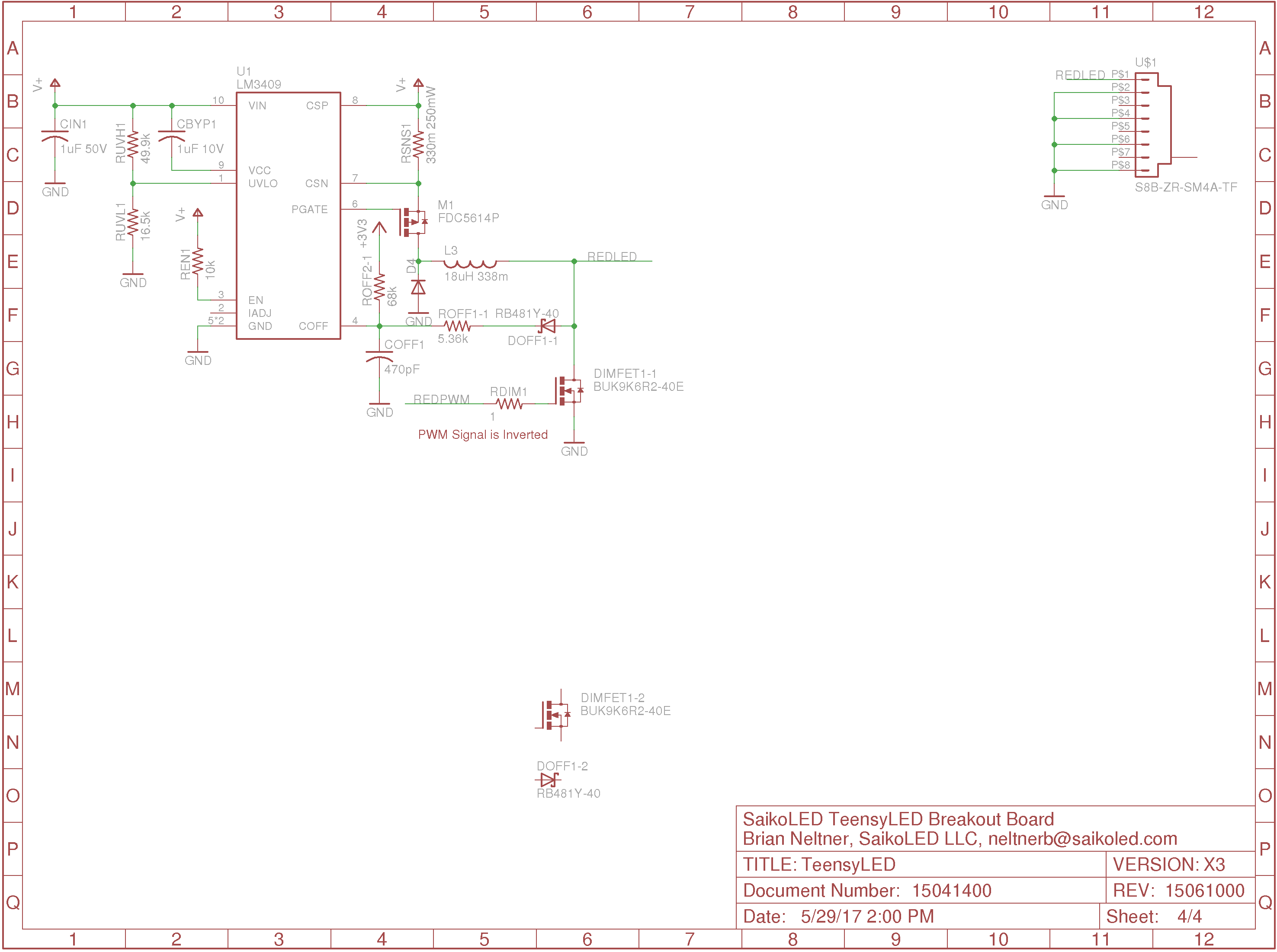 Lm3409 Which Shunt Dimming Circuit Is Best For High Contrast Hi Thanks The Response In Provided By You I Do Not Attached An Image Of My Current Design To Help Clarify And Maybe Can Identify Any Issues