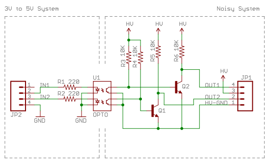Resolved] Isolated input for TPS92551 driver led to control the PWM