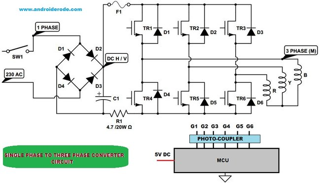 Wiring Diagram 3 Phase Rotary Converter - Life Style By ...