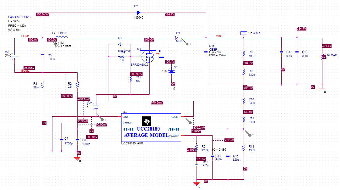 Orcad pspice simulation examples