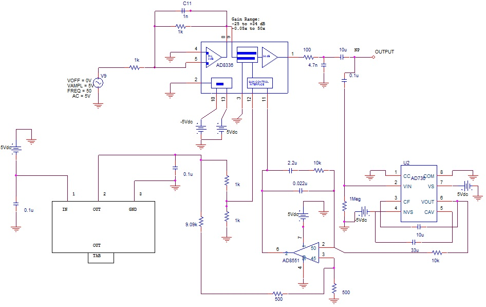 resolved  circuit simulation with pspice
