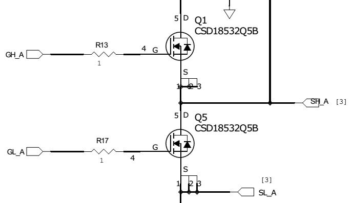 resolved    drv830x   power rating of gate resistor - motor drivers - motor drivers