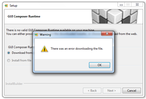 exe file is not running in windows 7
