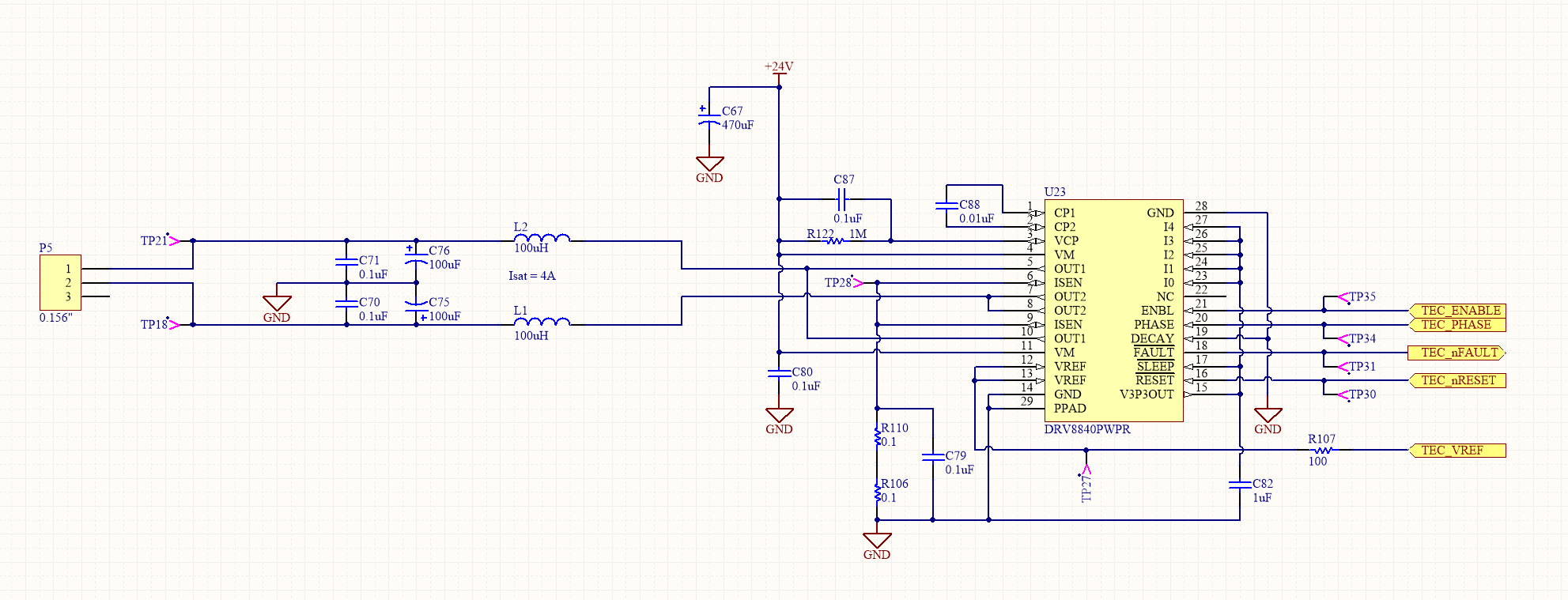 DRV8840 Faults with LC output filters - Motor Drivers Forum - Motor