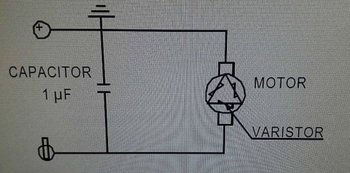 Resolved] DRV8872: Issue with a motor integrates capacitor