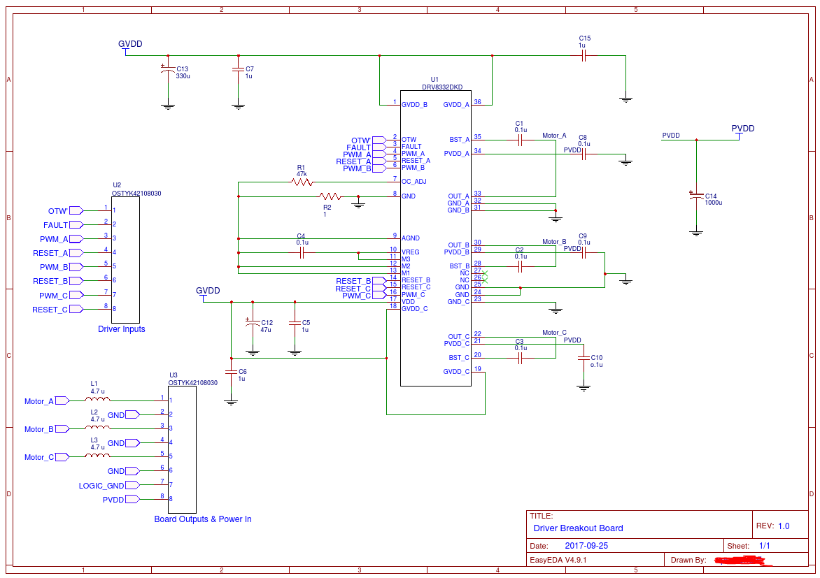 Brushless Hub Motor Controller Schematic Wire Center Dc Driver Block Diagram Drv8332 Driving A Bldc Few Problems And Question About Rh E2e Ti Com