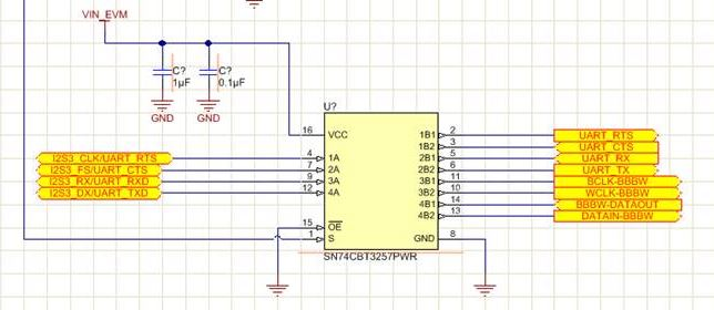 Resolved] SN74CBT3257: UART switch - Switches & multiplexers