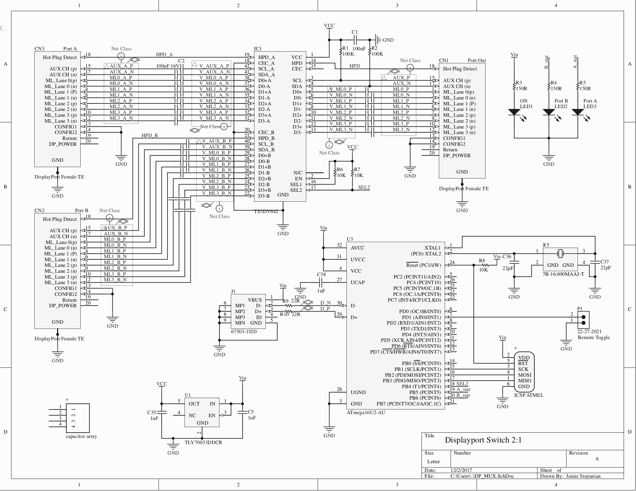 ts3dv642 displayport mux biasing for kvm configuration 2 dp rh e2e ti com mxm displayport schematic displayport schematic