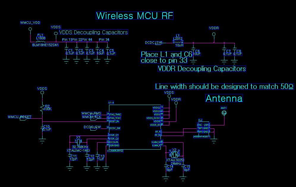 Resolved] CC2640R2F: custom board Hardware problem
