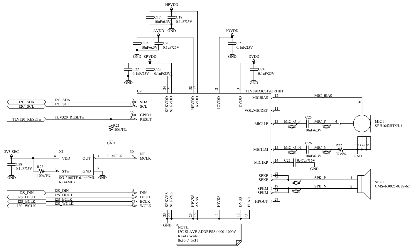 Resolved] TLV320AIC3120: Microphone interconnection based on the