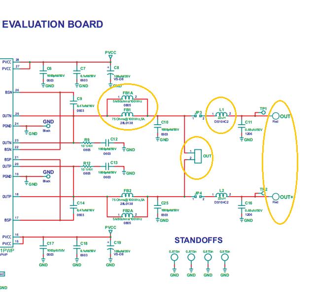 Class-D Amplifier TPA3111D1PWP driving Ultrasonic Transducer