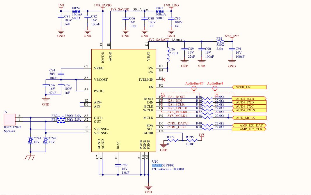 Resolved] TAS2552 imx6 i2s no audio out  - Audio forum - Audio - TI