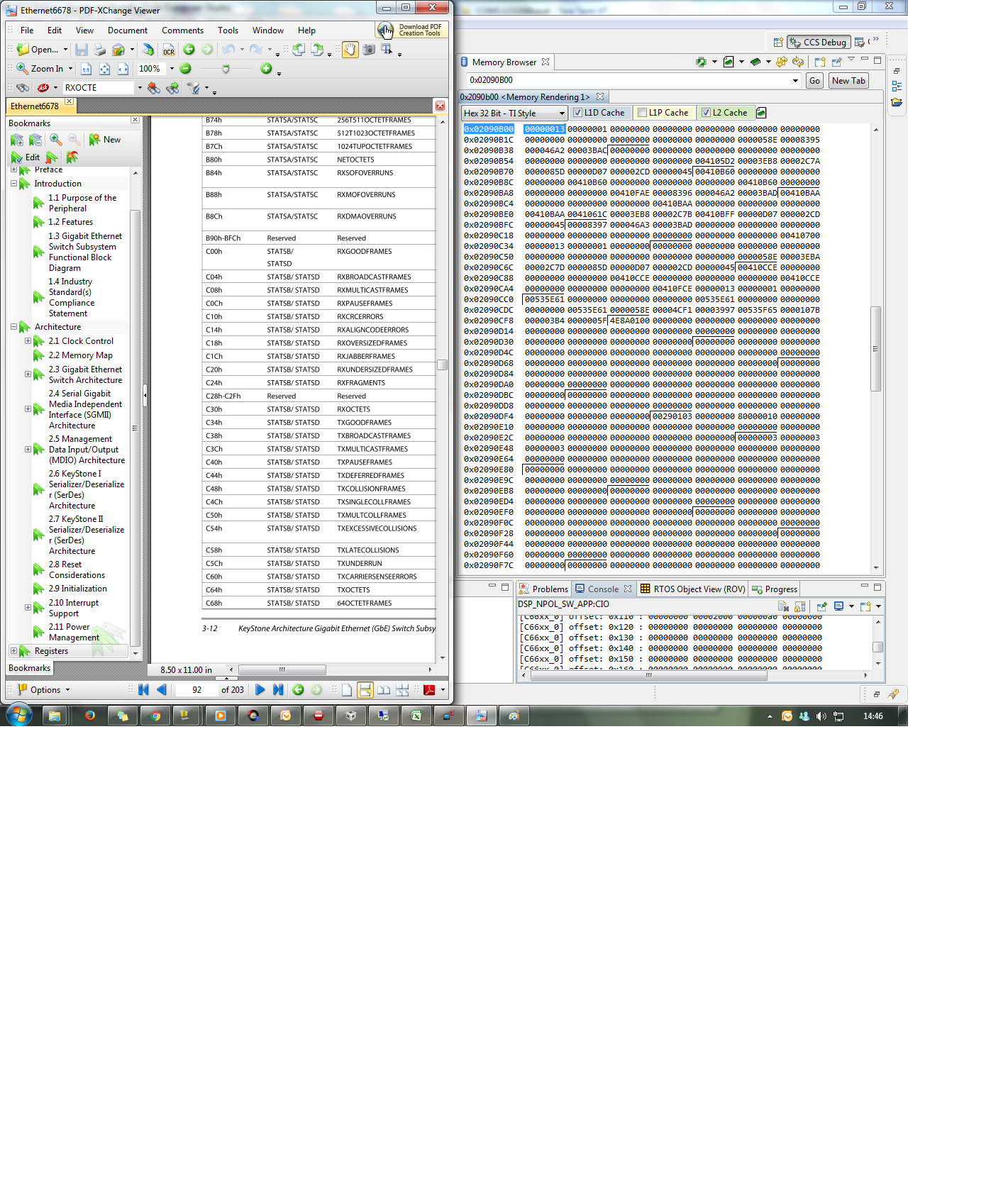 Jumbo frames not working C6678 DSP - Keystone Multicore Forum (C66 ...