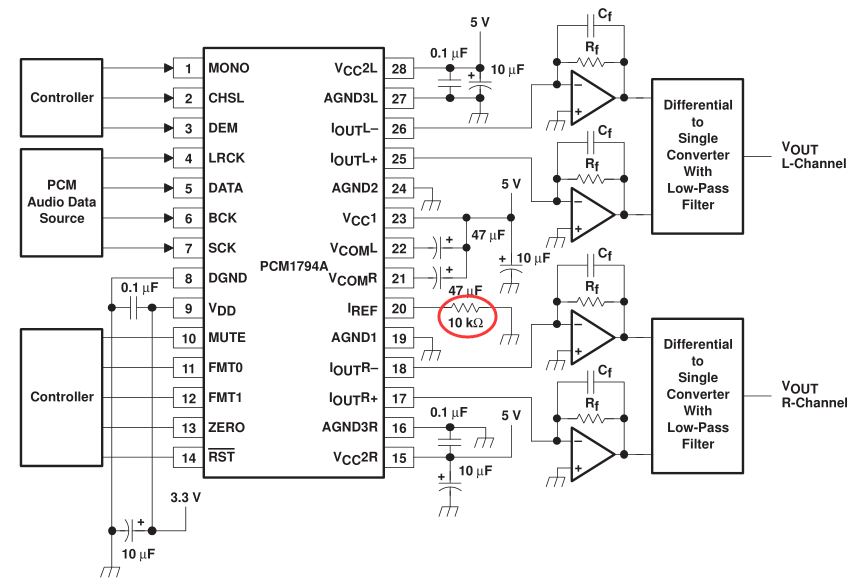 what u0026 39 s the best way to adjust volume   using pcm1794a
