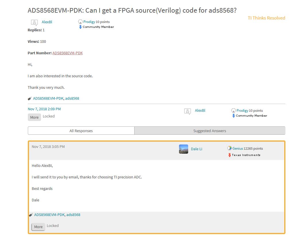 ADS8568EVM-PDK: FPGA source(Verilog) code for ads8568 - Data