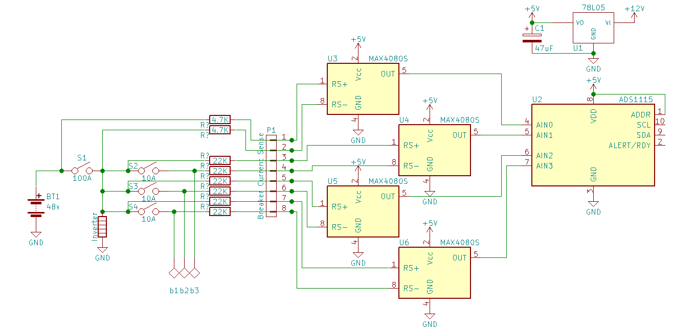 ADS1115: Half-blown inputs with major crosstalk, but don't