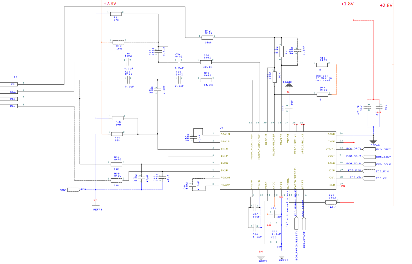 ADS1292R Interfacing problem with STM32: Noisy Channel 2