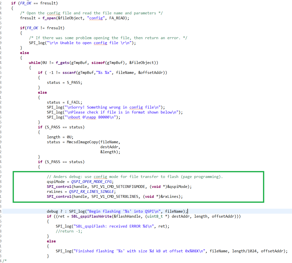 Resolved] RTOS/AM5716: QSPI programming issue - Processors forum