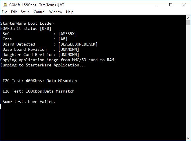 Resolved] RTOS/BEAGLEBK: Building TI-RTOS applications for