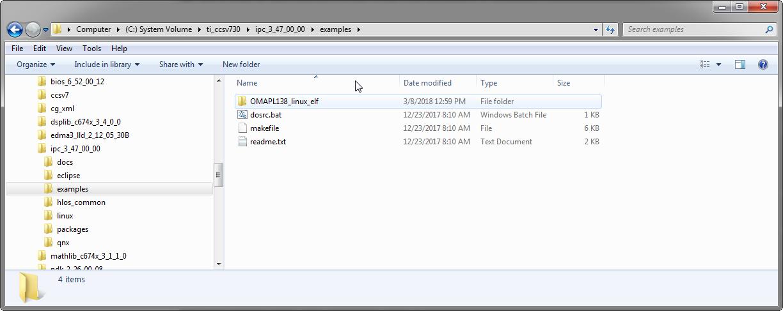 Resolved] RTOS/PROCESSOR-SDK-OMAPL138: Cannot build IPC