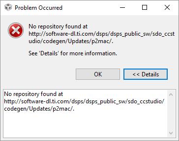 Resolved] CCS: CCS in-program update broke installation    - Code