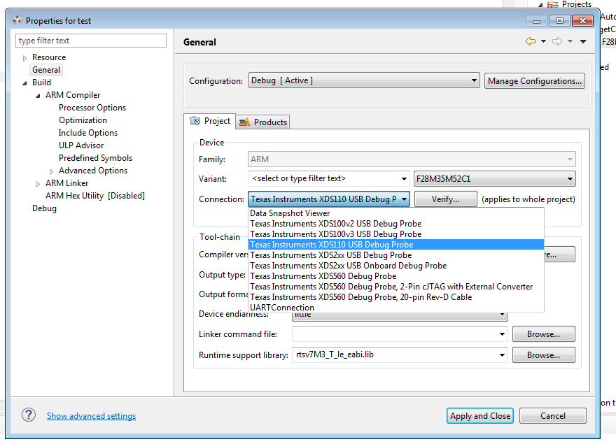 CCS: How to debug in CCS using J-Link? - Code Composer