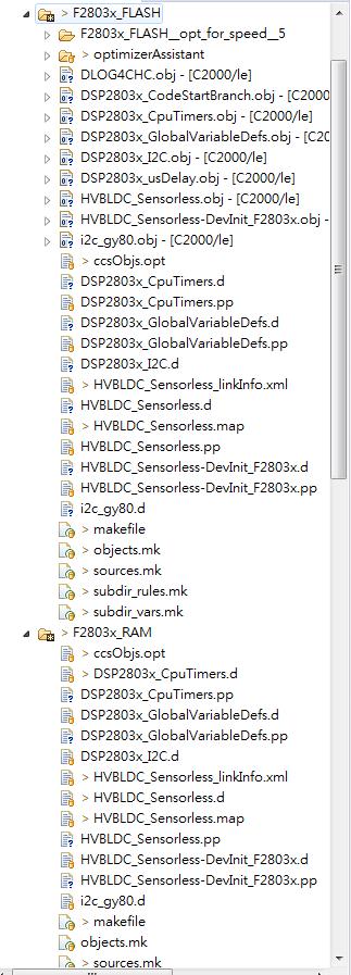 CCS/TMS320F28035: CCS build problem : gmake :target 'all