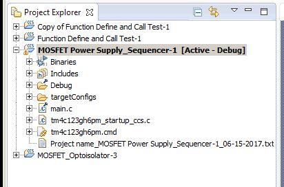 Resolved] CCS/TM4C123GH6PM: Problem: Build-variable