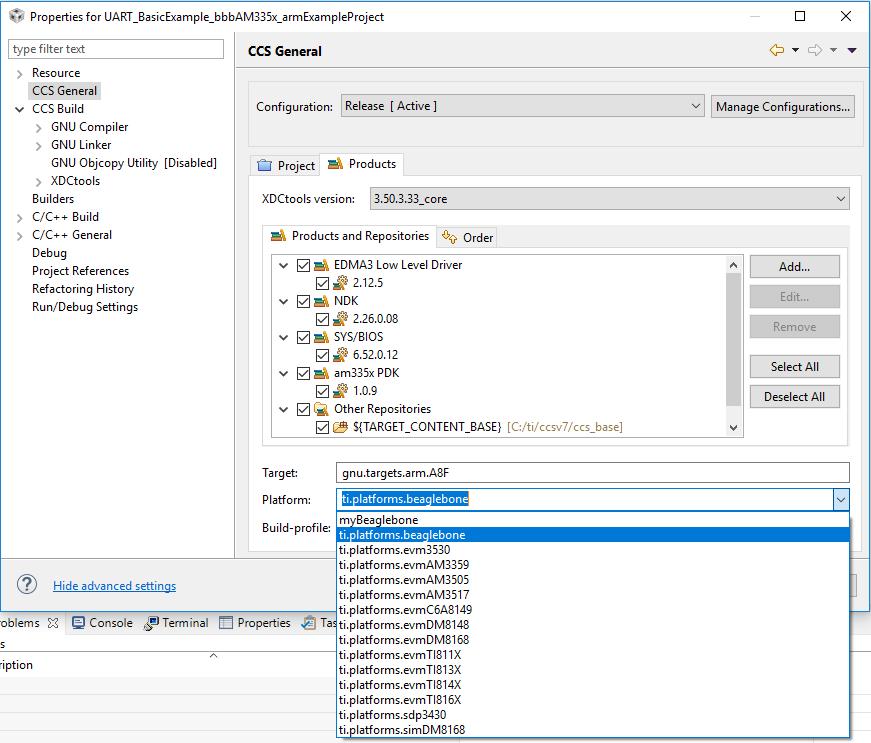 Resolved] RTOS/BEAGLEBK: Beaglebone Black platform - Code