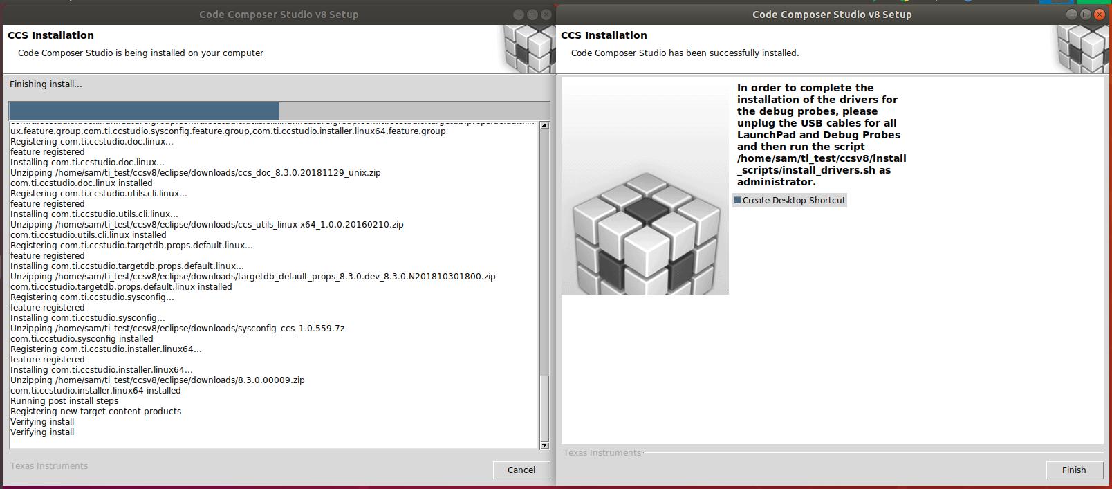 CCS: Cannot install CCS 8 3 0 on Ubuntu 18 04 1 - Code