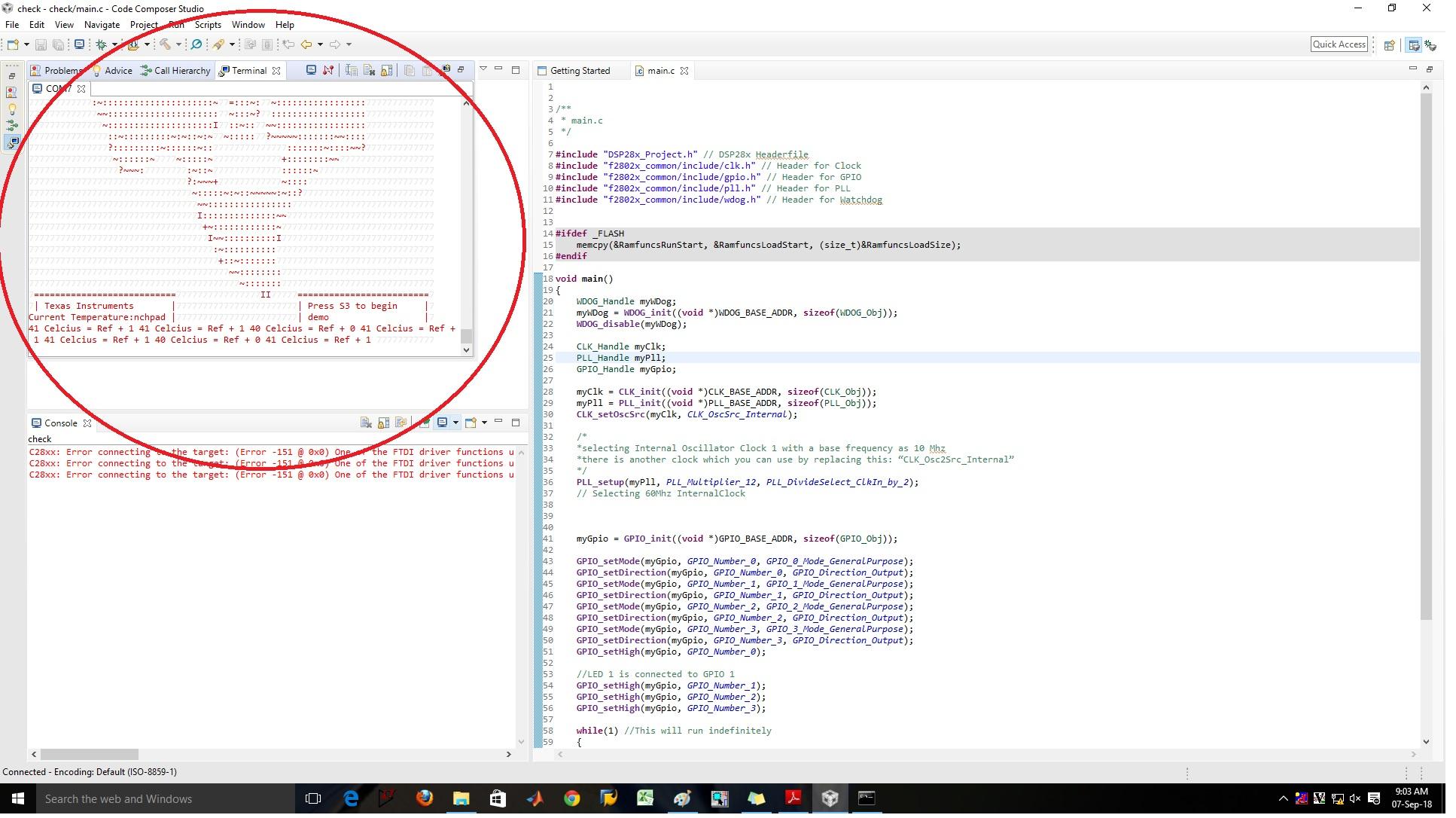 Resolved] CCS/LAUNCHXL-F28027: XDS100v1 usb emulator problem