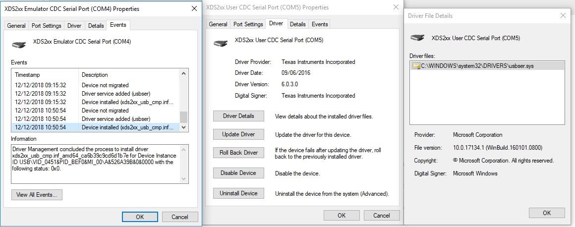where are device drivers stored in windows 10