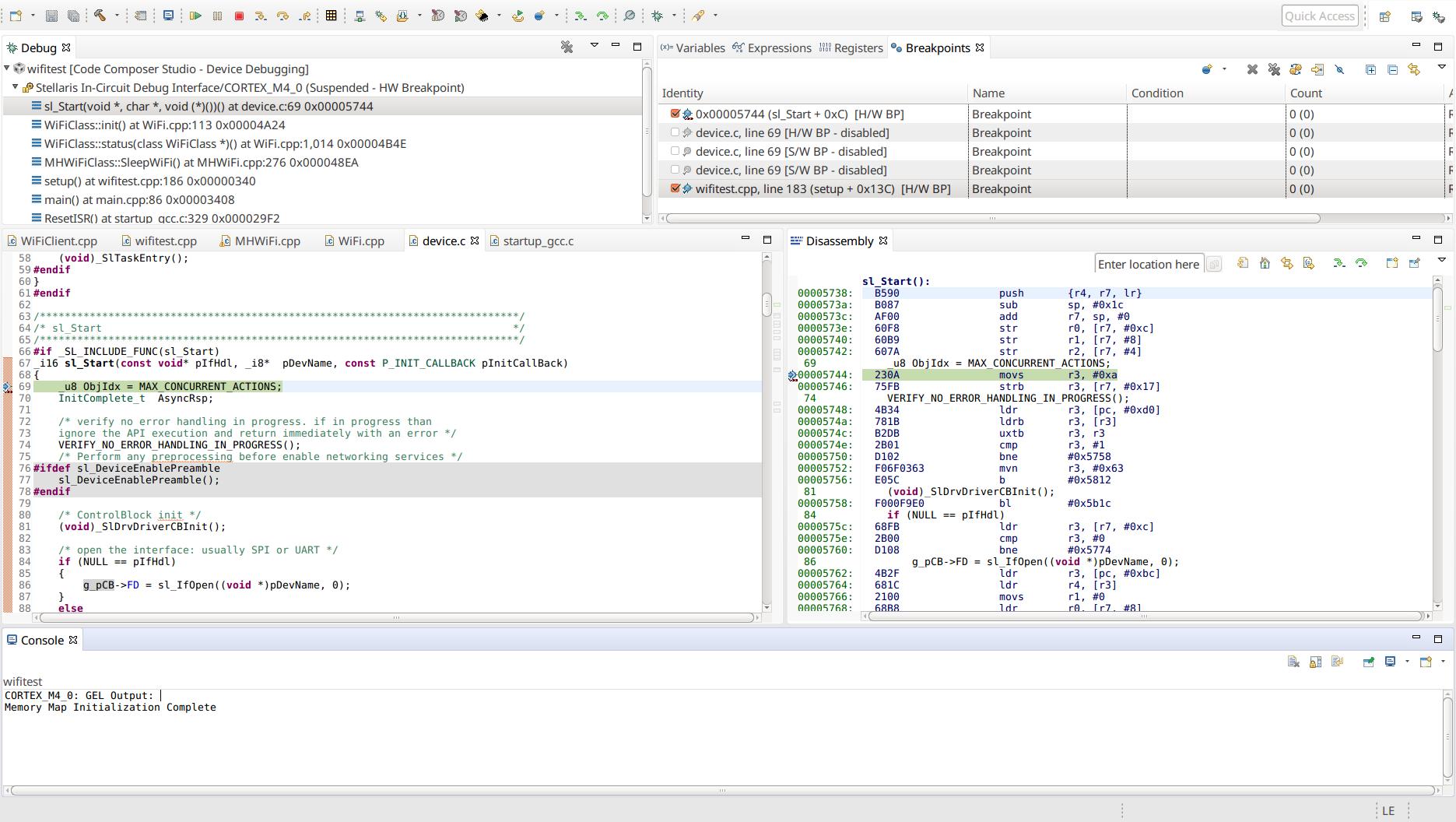 Resolved] CCS/CCSTUDIO: v7 4 0 00015 Linux GNU GCC v6 3 1