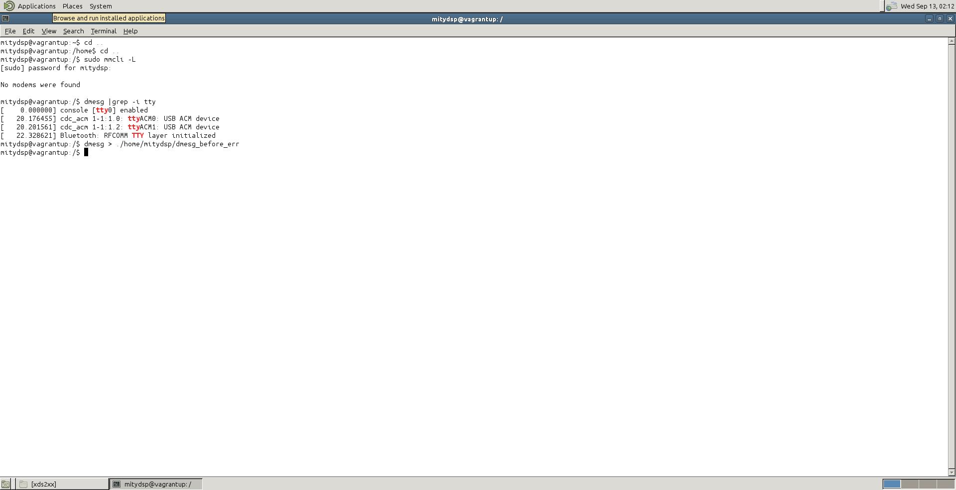 CCS/OMAP-L138: CCS running on Linux (UBUNTU 14 04) Virtual