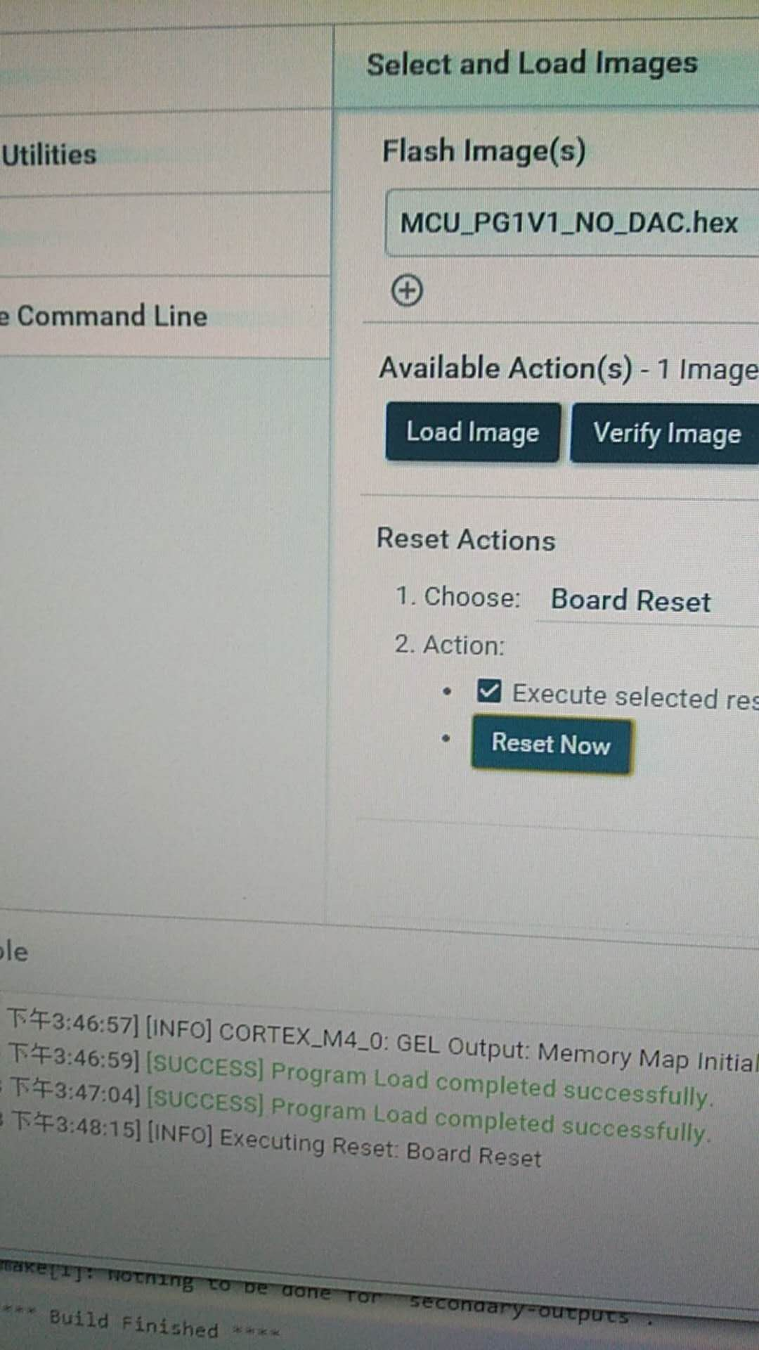 Resolved] TM4C123GH6PGE: TM4C123GH6PGE can't run after use Uniflash
