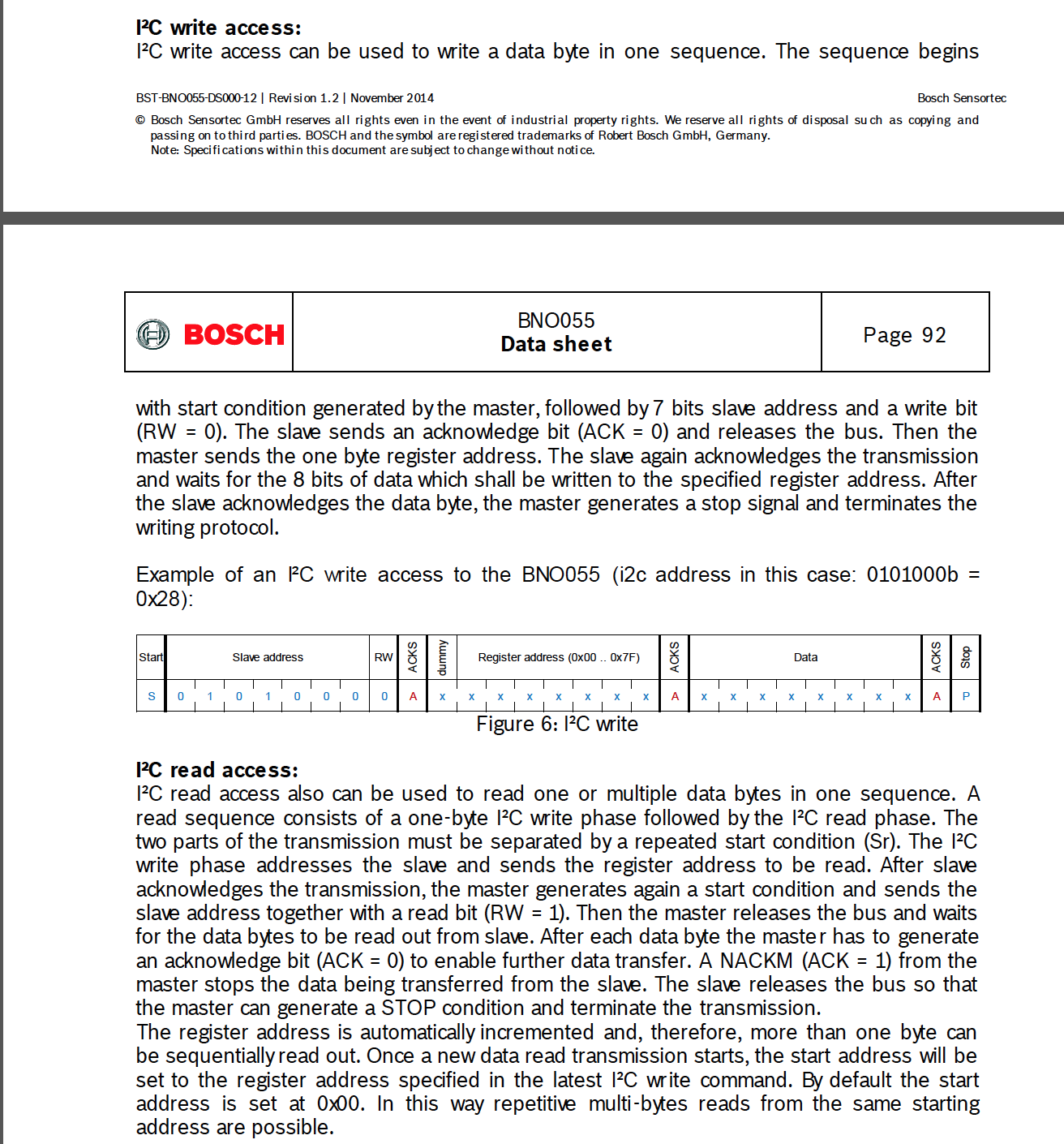TM4C123GXL: I2C Communication and the bno055 - Other
