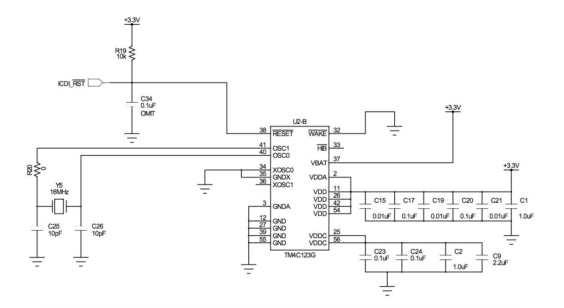 Schematic Design For TM4C123GH6PM - TM4C Microcontrollers Forum ...
