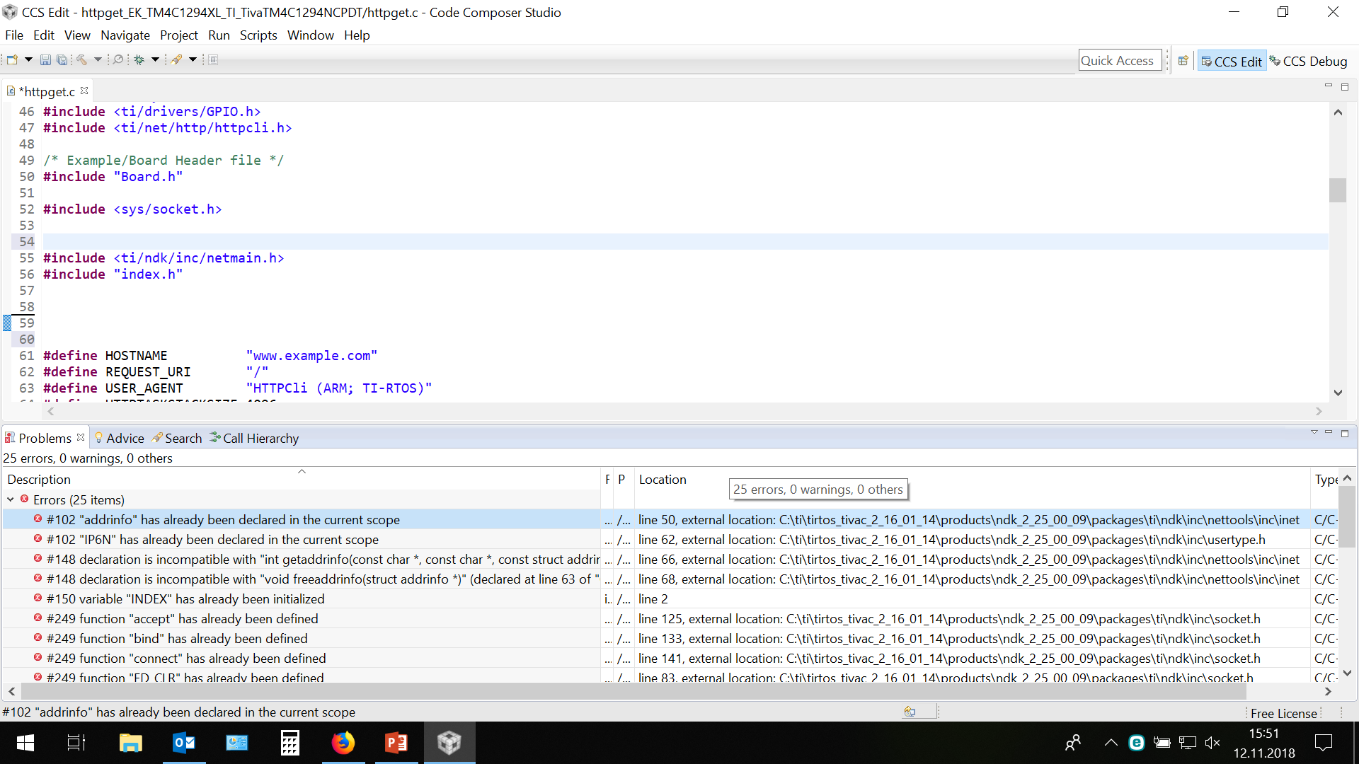 Resolved] RTOS/EK-TM4C129EXL: Combine a Http Server and Http