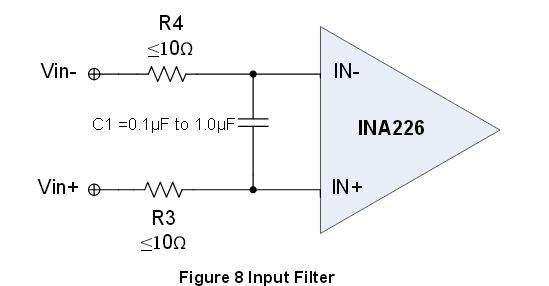 reducing ina199a1 noise in existing design