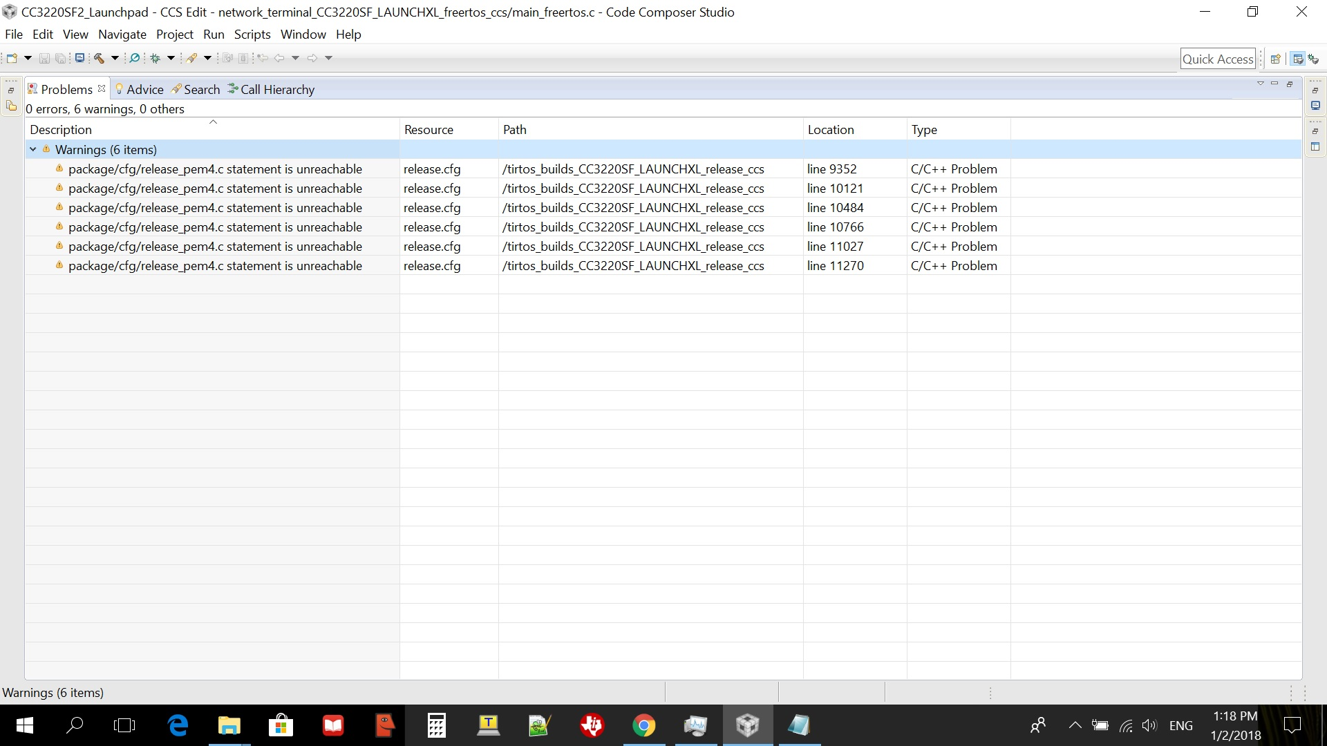 CCS/SIMPLELINK-CC3220-SDK: SDK v1 60