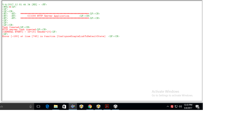 Resolved] RTOS/CC3200-LAUNCHXL: CC3200-LAUNCHXL - Wi-Fi