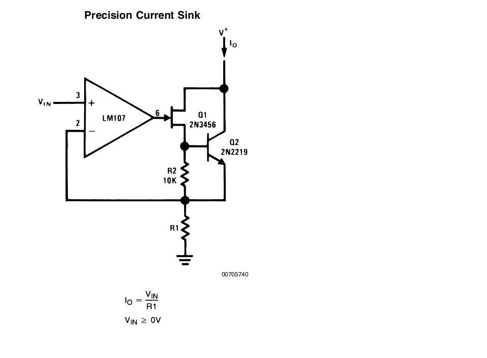 resolved  understanding this precision current sink