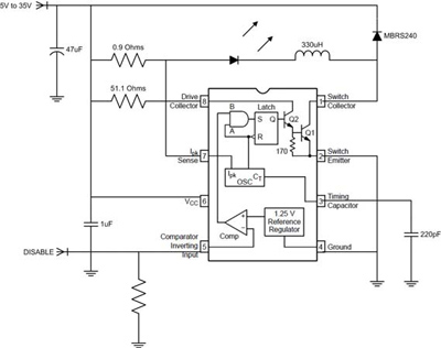 Resolved Mc34063 33063 Led Driver Non Isolated Dc Dc